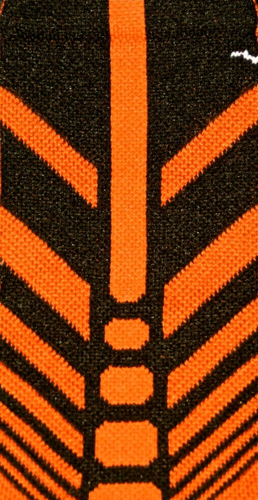 Image of Nike Elite Sequalizer Crew Socks Orange/Black