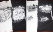 Image of SPERMBLOODSHIT The Tourette's Syndrome B/W T-shirt/Girly/Tank TS