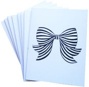 Image of Bow Note Card Set