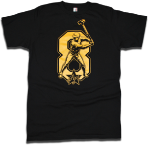 Image of Willie Stargell &quot;Sledgehammer&quot; tee by Backpage Press