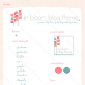 Image of Spring Premade Theme - In Bloom