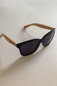 Image of Thndr Wayfarer Sunglasses Black