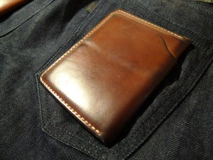 Image of Fat Herbie - Whiskey Shell Cordovan Wallet