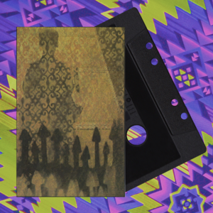 Image of ROSE WINDOWS // KINGDOM OF THE HOLY SUN SPLIT CASSETTE