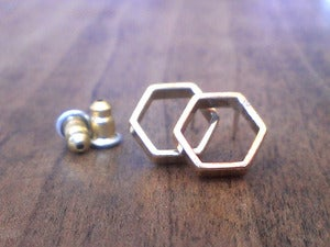 Image of HEXAGON earrings