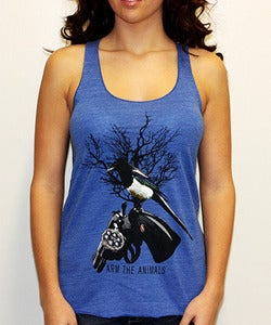 Image of Girls | 357 Mag Pie | Eco Blend Tank Top | Eco Royal