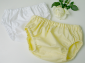 Image of Nappy cover set - lemon