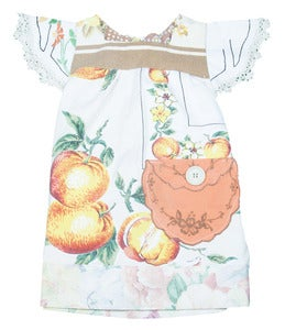 Image of Citrus cutie VINTAGE tunic 0 to 3 years