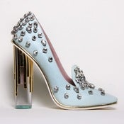 Image of Crystal Pump: Blue