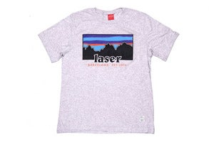 Image of Montserrat tee in Heather grey