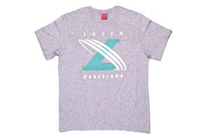 Image of Un-cross training tee in Heather grey