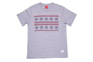Image of Fisherman Tee Heather grey