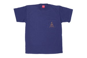 Image of Native pocket tee in navy