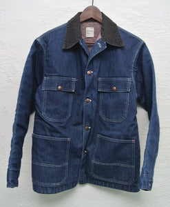Image of Vintage JCPenny denim chore coat (S)