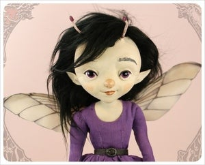 Image of SOLD!~ Lestes ~ DamselFly Doll by the Filigree