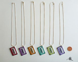 Image of Cassette Tape Necklace