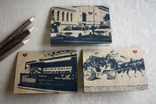Image of NYC Lover's Transportation set of 3 note cards