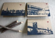Image of NYC Lover's Brooklyn set of 3 note cards