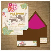 Image of Invitation | Kids<BR>{Safari Chic}