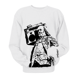 Image of Ben Jammin' Crewneck (White)