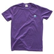 Image of 8 Bit Apparel #Pixel Tee Heather Purple