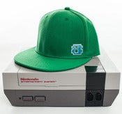 Image of 8 Bit Apparel #Pixel Snapback Green