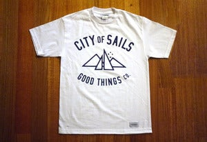 Image of City of Sails - White