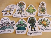 Image of Lovecraft Sticker Pack!