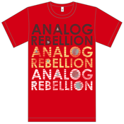 Image of Analog Rebellion Shirt - Red