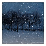 Image of SNOWY NIGHT - Archival Print