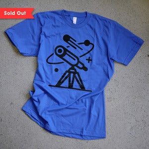Image of Cosmos Tee / NASA Blue
