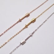 Image of Sideways Arrow Bracelet