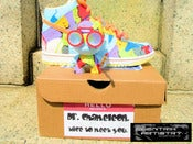 "Image of ""Dr. Chameleon"" Custom Dunk High, Kids size 6 (1-of-1)"