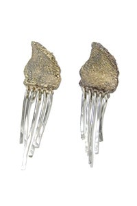 Image of Wilted Fringe Earrings