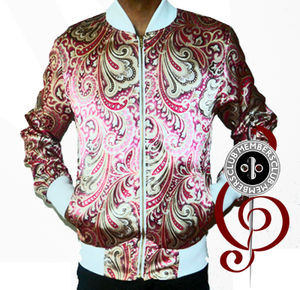 Image of Paisley Park Silk Members Club Jacket