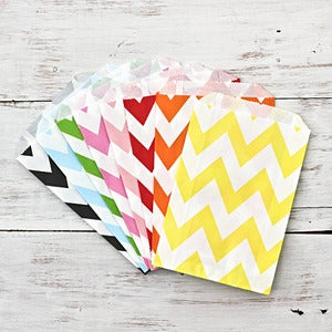 Image of Chevron Paper Bags