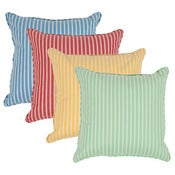 "Image of Sanibel Stripe Double Sided 18"" Pillows"