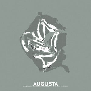 Image of Augusta National Golf Club Screenprint Poster