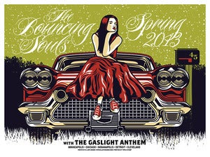 Image of Bouncing Souls - Gaslight Anthem - US Spring Tour 2013 - CAR