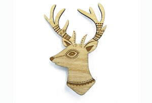Image of Woodland Deer Brooch