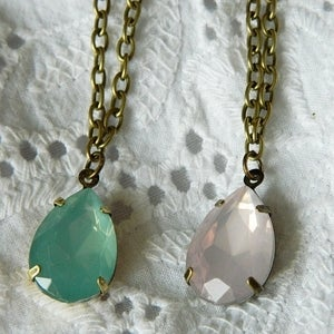 Image of Pastel Jewel Necklaces