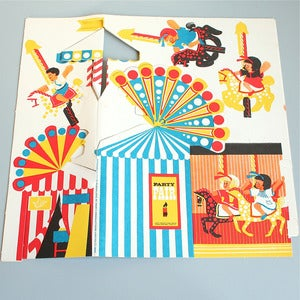 Image of Amazing Vintage Paper Party Pack - Fairground - SOLD