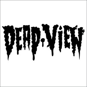 Image of Dead View Decal (Black)