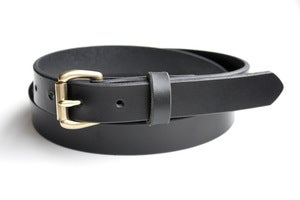 Image of The Slim Belt - Black