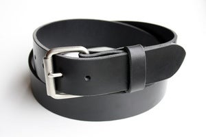 Image of The Roller Buckle Belt - Black
