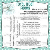 Image of Royal Treat Poems (4x4) ~ Peachy