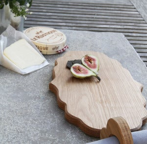 Image of Small Oak Platter Board