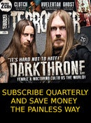 Image of Terrorizer Quarterly Subscriptions: the painless way to save money