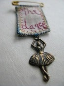 Image of Little dancer brooch