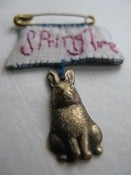 Image of Spring time bunny brooch
